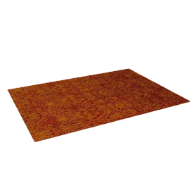 Isabella Rug, Red / Gold, W170 x L240