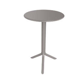 Dionysus Patio Table, Brown