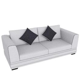 Geneva 3-Seater Sofa
