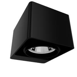 DeltaLight Boxter 1 50, black/black