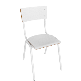 Suzy Dining Chair, White