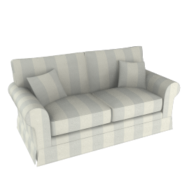 PADSTOW LARGE SOFA, Camber Stripe Mineral