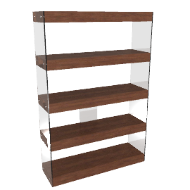 Anton Shelves, Walnut