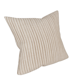Pleats Cushion, Natural