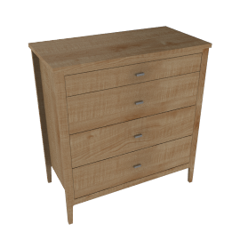 House by John Lewis Maine 4-drawer Chest