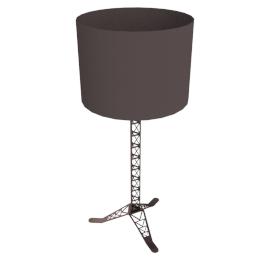 Milau Table Lamp, Matt Black