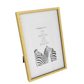 Gloria Photo Frame - 4x6 inches, Gold