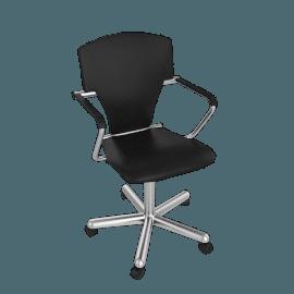 Egoa Task Chair Soft Wheels - Leather