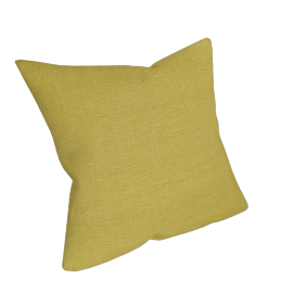 Plain Cotton Cushion, Green
