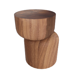 Hew Side Table, Shape D, Walnut