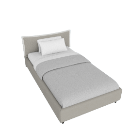 Sicily Fabric Bed Cover - 120x200 cms