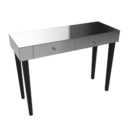 John Lewis Astoria Mirrored Console Table