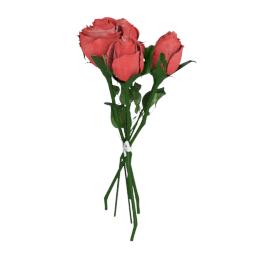 Rose Bundle 40.5 cms, Red