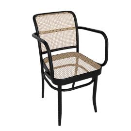 Hoffmann Armchair, black
