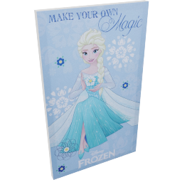 Disney Frozen Movie Poster Wall Canvas - 30x50 cms