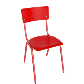 Suzy Dining Chair, Red