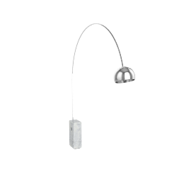 Arco Floor Lamp - White Base