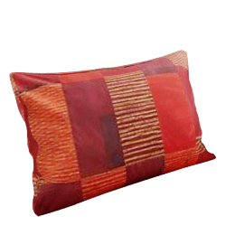 San Marino Pillowcase, Pimento, Standard