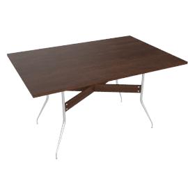 Nelson™ Swag Leg Rectangular Dining Table