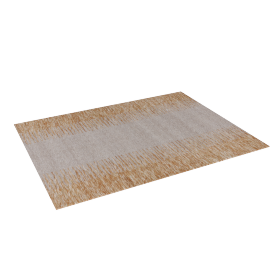 Ikat Dhurrie - 120x160 cms, Brown