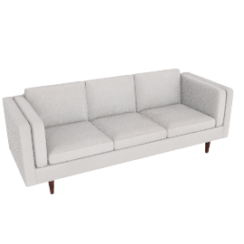 Chill 4 Seater Sofa, White