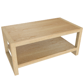 Logan Coffee Table, Natural
