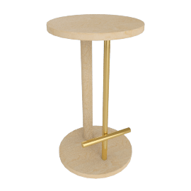 Spot Counter Stool, White Ash