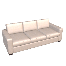 Portola Sofa - 84 in Ultrasuede