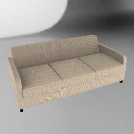 Mezzo Large Sofa, Mushroom