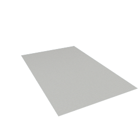 Chilewich Strike Floor Mat 3'10'' x 6', Limestone
