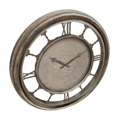 Sepia Wall Clock
