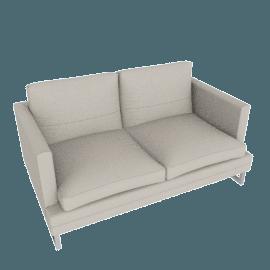 Corsica 2-Seater Sofa, Grey