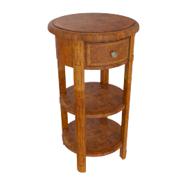 Hemingway Tall Round Side Table