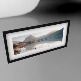 James Bell - Buttermere View Landscape Framed Print, 49 x 104cm