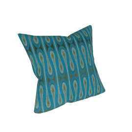 "Maharam DWR Pillows, 17"" x 17"" - Peacock"