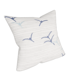John Lewis Flying Seagulls Embroidered Cushion