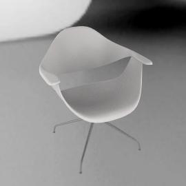 Nelson™ Swag Leg Armchair - White