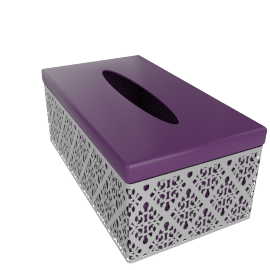 Anemone Tissue Box Cover