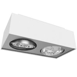 Lirio Bloq 2x50W, white