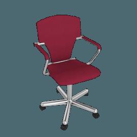 Egoa Task Chair Soft Wheels - Fabric Tonus