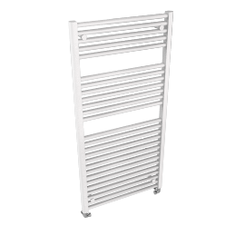 Heated Towel Rail 1212 x 600, gloss white