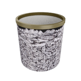 gerusalemme paper basket by fornasetti