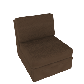 Dizzy Chair Bed, Mink