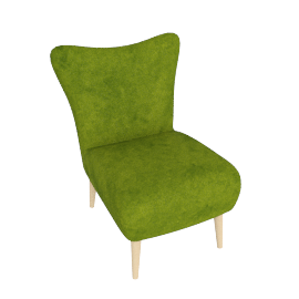 Finch Arte Chair, Meadow Green
