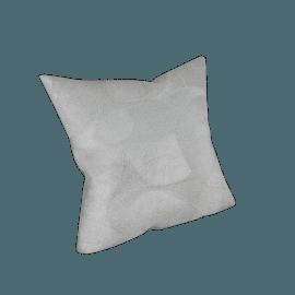 Glitz Cushion - 45x45 cms, Silver