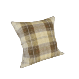 Wolseley Scatter Cushion, Wool Plaid