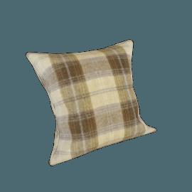 Wolseley Scatter Cushion, Wool Plaid