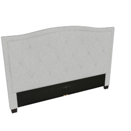 Stellar Ark King Headboard, Grey
