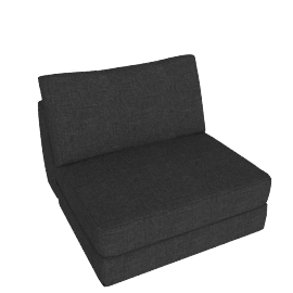 Reid Single Seater in Fabric