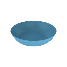 Mud Pebble Bowl in Large - Turquoise
